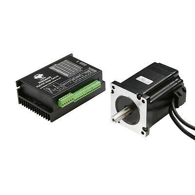 6A servo motor+driver+3m cables 【No Tax】Nema34 closed loop stepper motor 9N.m