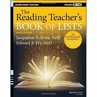 The Reading Teacher's Book of Lists, Sixth Edition by Jacqueline E. Kress, Edward B. Fry (Paperback, 2015)