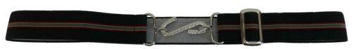 Retro Unisex 70s Green Elastic Snake Belts