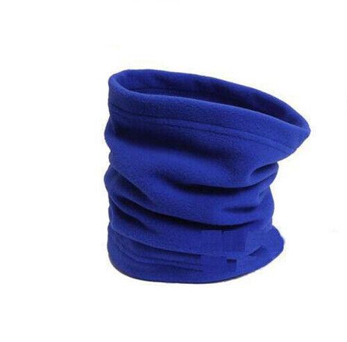Linea Uomo Donna Termico Scalacollo basso di lenza Inverno Sciarpa a Maglia Lanoso Beanie Hat Cap