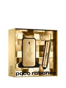 Paco-Rabanne-1-Millon-Gift-Conjunto-de-Paco-Rabanne-Eau-de-Toilette-50ml-10ml-EDT