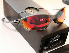 OAKLEY GENUINE JULIET X METAL FRAME W/  RUBY IRIDIUM LENSES NEW 24-125
