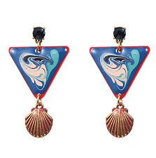 MARNI H&M   Triangle Shell  Earring Set