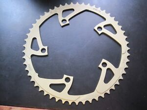 NOS Shimano SuperGlide Chainring..53T and 130mm BCD...Second First Generation