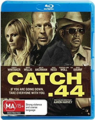 1 of 1 - Catch .44 - Blu-ray (NEW & SEALED) Aus Region B