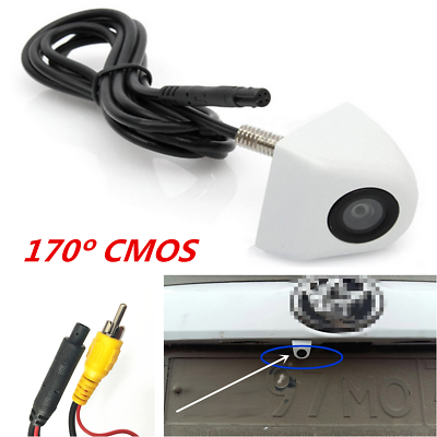 Apprehensive 170°cmos Car Rear View Reverse Backup Night Reversing Parking Back Up Camera Hd To Have A Long Historical Standing Consumer Electronics