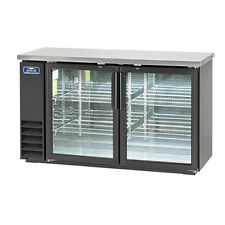 Arctic Air Abb60g 72 6 Pk Can Capacity Back Bar Refrigerator Glass Door