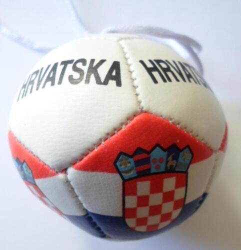 Hurry Croatia Flag// Croatia mini soccer ball for your car mirror-Get the best
