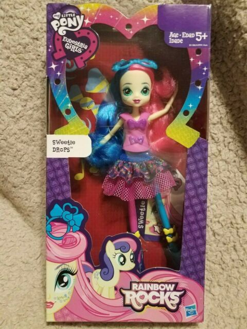 My Little Pony Equestria Girls Rainbow Rocks Sweetie Drops Doll Ship For Sale Online Ebay