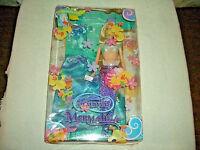Barbie-rare-htf-fairytopia Series Mermaidia Elina Doll J7434-2005-new-nrfb