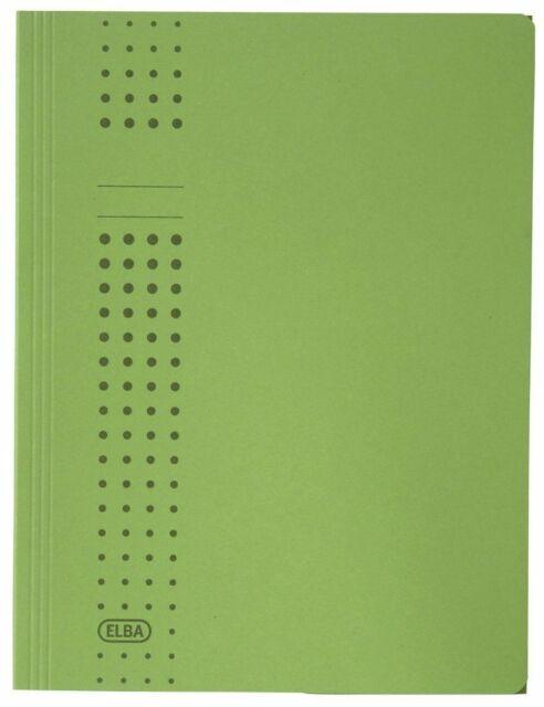 Elba 100091167 Sammelmappe chic, Karton (RC), 320 g/qm, A4, 10 mm, grün