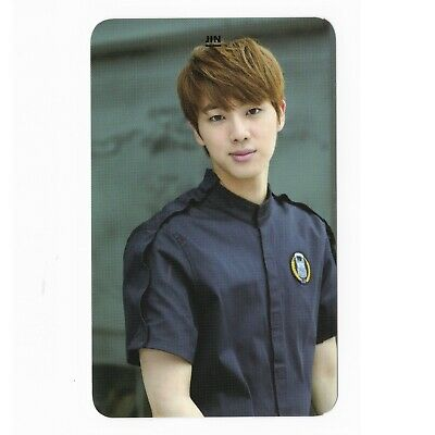 Jin Bang Tan Boys Original Bts Photo Card Photocard Idol Group