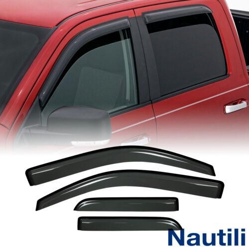 4pcs For 14-18 Silverado Sierra Double//Extended Cab Sun Rain Guard Window Visors