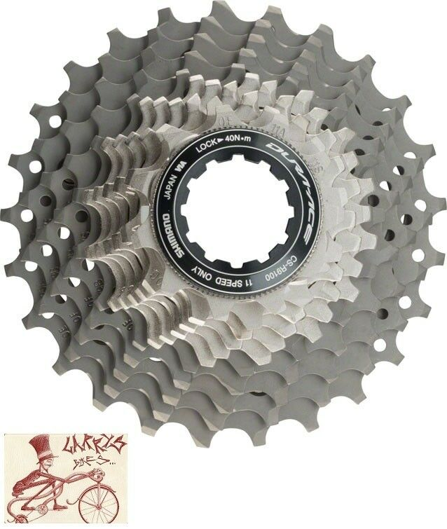 SHIMANO DURAACE R9100 11SPEED 1128T ROAD BICYCLE CASSETTE