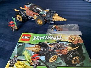 Lego Ninjago #70502  Instruction Manual only for Cole/'s Earth Driller