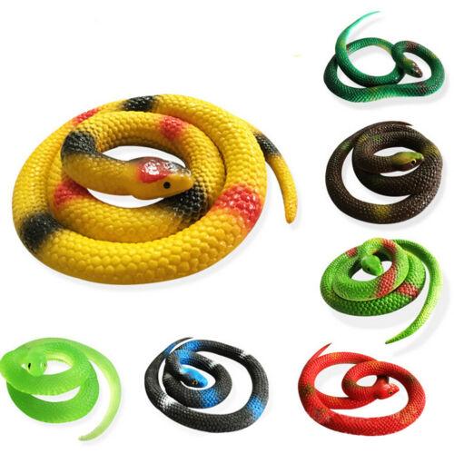 1 Pcs Simulation Snake Rubber Fake Funny April Fool Joke Funny Gags Trick Toy FB