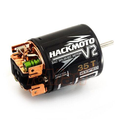Yeah Racing MT-0031 Hackmoto V 10.5T 540 Brushless Sensored Motor
