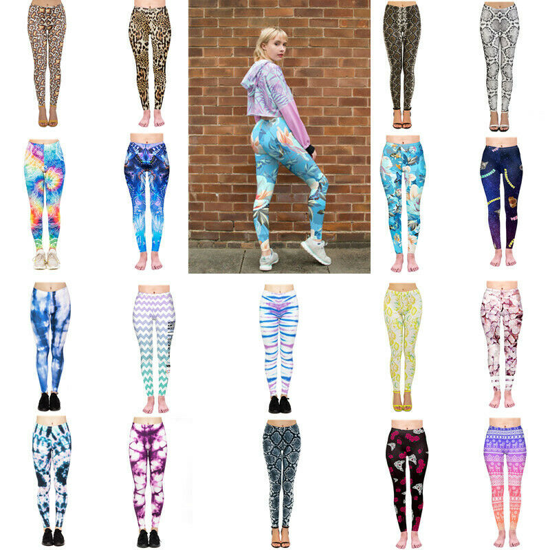 3D Women Ruching Push Up Leggings Yoga Apparel Anti Cellulite Scrunch Pants NEW