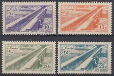 Liban Lebanon 1957 */MLH Mi.583/86 Flugpost Airmail Bewässerungskanal [st4095]