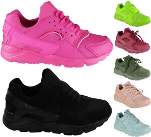 Ladies-Running-Trainers-Womens-Lace-Up-Flat-Comfy-Fitness-Gym-Sports-Shoes-Size
