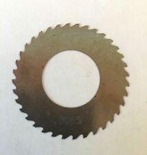 "Solid Carbide Slotting Slitting Jeweler Blade Saw 1.92/"" x .0067 x 1.0/"" Bore Mill"