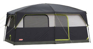 Coleman Camping Stonewall 9 Person Waterproof Family Tent