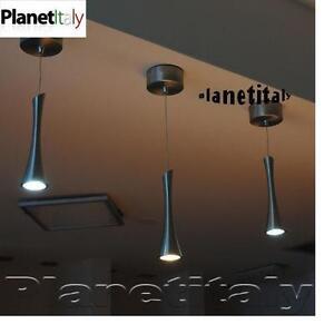 Pendente luce led 3w per tavolo snack cucina bar lampada sospensione ...