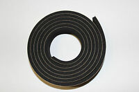 Marine Boat Hatch Seal Neoprene Tape- W/ Adhesive 1/2wide X 1/4 Tall X 5' 12