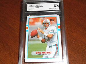 Dan-Marino-GRADED-CARD-1989-Topps-293-Dolphins-HOFer-8-5-2