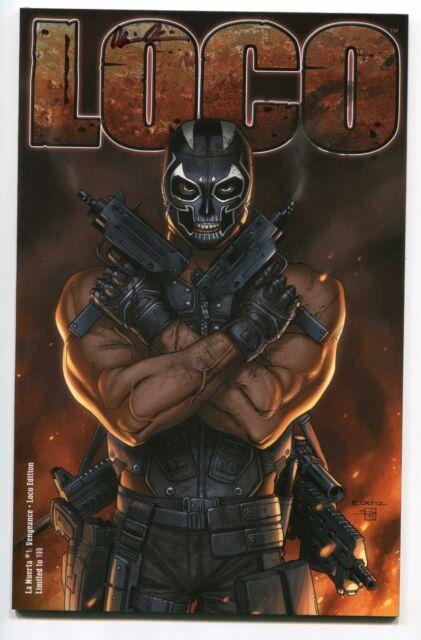La Muerta Vengeance #1 Kickstarter LOCO Variant Cover by Richard Ortiz Signed
