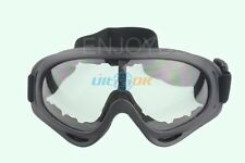 Newly KITE SURFING JET SKI TACTICAL AIRSOFT GOGGLES GLASSES BLACK Fine