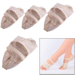Ballett-Tanzschuhe-Barfusstanz-Schuhe-Fussschutz-Dance-Foot-Sole-Shoe-Toe-Thong