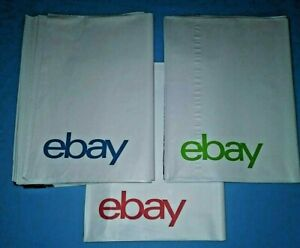 """Branded Polymailer Red Green /& Blue 9/"""" x 11.5/"""" No Padding"""