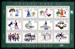 Marshall-Inseln-2012-Weihnachten-Christmas-Kleinbogen-Postfrisch-MNH