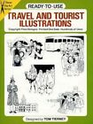 Ready-to-Use Travel and Tourist Illustrations by Tom Tierney (Paperback, 2003)