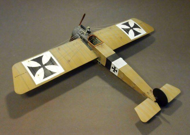 Fokker EII, 33 15, FFA 96, januari 1916 Världskriget JJJJD modelll Airplan ACE-25