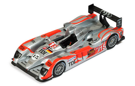 Audi R10 Tdi  15 LMP1 Le Mans 2010 Albers   Bakkerud   Jarvis 1 43 Model LMM191