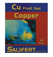 TEST UNTERSUCHUNG CU ( KUPFER) profi test. Marke SALIFERT.SPEZIELL MARINO.