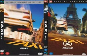 taxi 1 1998 taxi 2 2000 samy naceri new sealed dvd. Black Bedroom Furniture Sets. Home Design Ideas