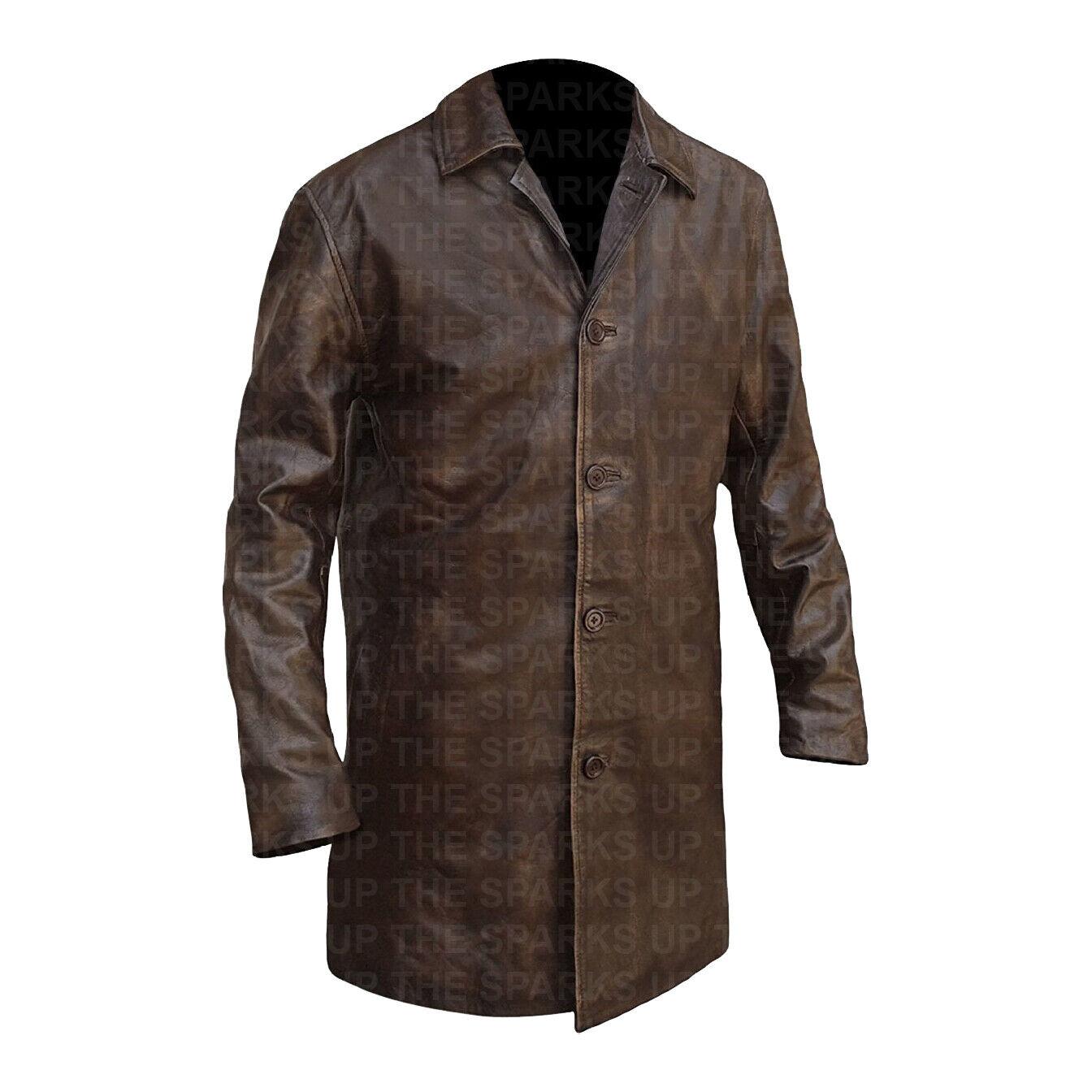 Supernatural Demon Dean Vintage Classic Wear Distressed leder jacke - SALE