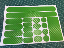 Carbon Effect Frame Chainstay Patch Rubbing Protection Set Not Helicopter Tape