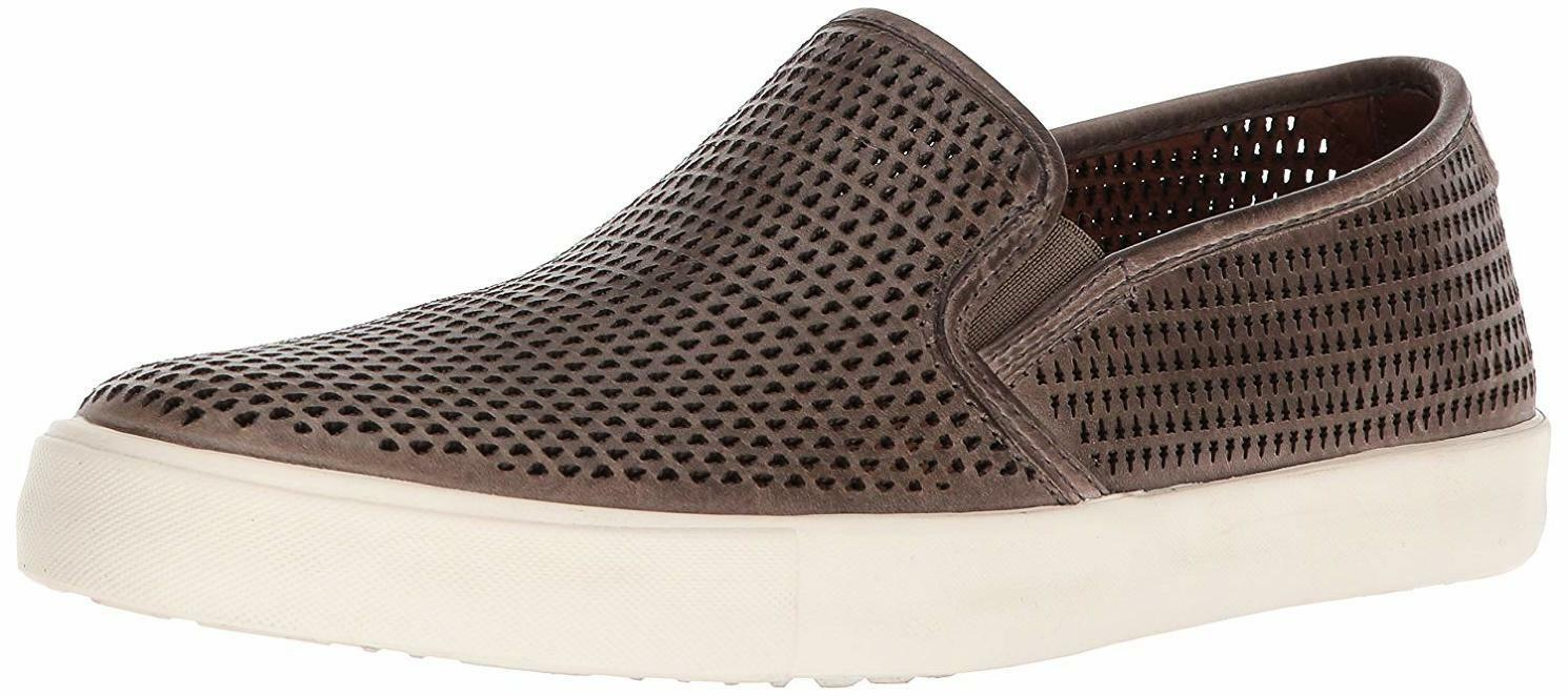 Frye Mens Brett Perforated Slip On Fashion Sneakers shoes Greay 9 NEW IN BOX