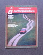 Rivista / Magazine - NOTIZIARIO AUTORIPARATORE - OTTOBRE 1986 - LANCIA Y10 4WD