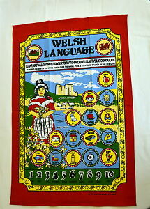 Basic WELSH LANGUAGE design cotton TEA TOWEL  Wales Cymru - Swansea, Swansea, United Kingdom - Returns accepted Most purchases from business sellers are protected by the Consumer Contract Regulations 2013 which give you the right to cancel the purchase within 14 days after the day you receive the item. Find out mo - Swansea, Swansea, United Kingdom