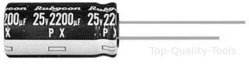Alu Elec 10UF Capuchon 350 V rad Part # Rubycon 350 PX 10 MEFC 10X16