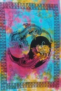 Wall-Hanging-Art-Tie-Dye-Yoga-Mat-Animal-Dragon-Poster-Hippie-Tapestry-Decor-Art