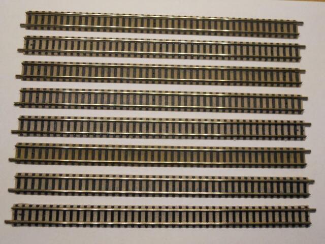 FLM PICCOLO 9100 gerades Gleis 222mm 8 Stück (34439)