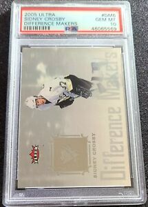 2005-06-Ultra-Difference-Makers-Sidney-Crosby-Rookie-PSA-10-Low-Population-RC