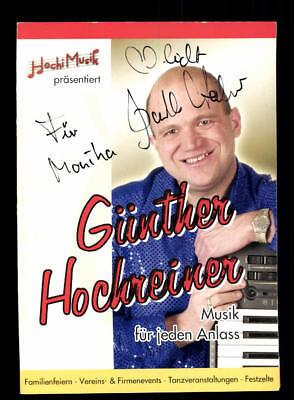 Sammeln & Seltenes Günther Hochreiner Autogrammkarte Original Signiert # Bc 115667 Modern Und Elegant In Mode