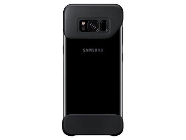 on sale fd424 9e77e Genuine Samsung Galaxy S8 2piece Cover Easytoattach Unique Color Combo  Ef-mg950 Black
